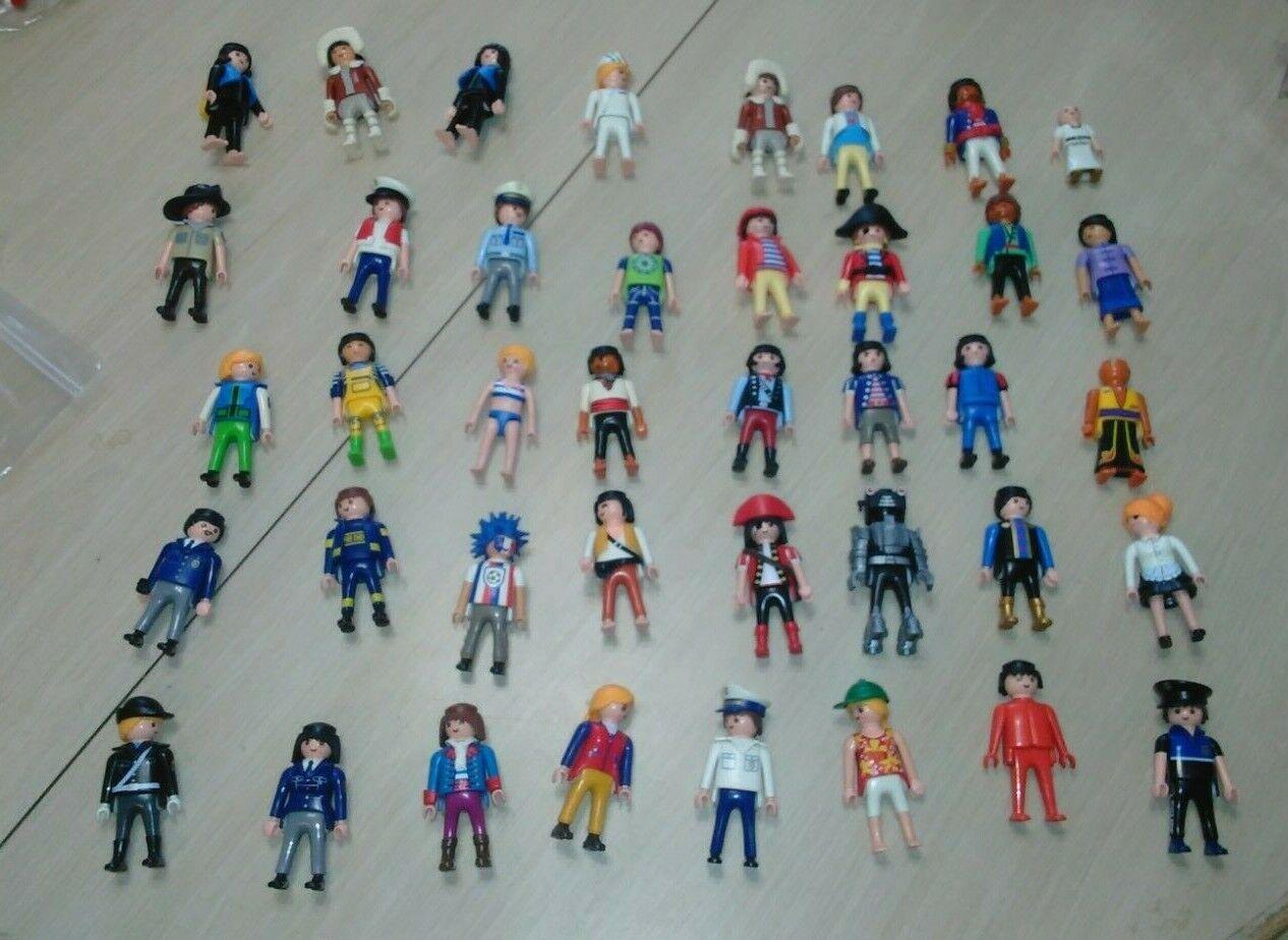 NO403 Jahr Playmobil menschen Figure Masse Geobra damen pirates police girl