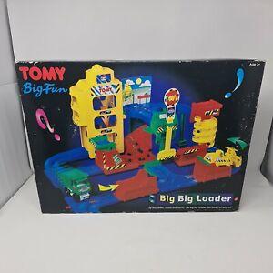 Vintage Tomy Big Fun Big Big Loader Retro Construction Toy Age 3+ Faulty Engine