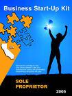 Business Start-Up Kit - Sole Proprietor: California 2004 by Startupkits Com (Paperback / softback, 2004)