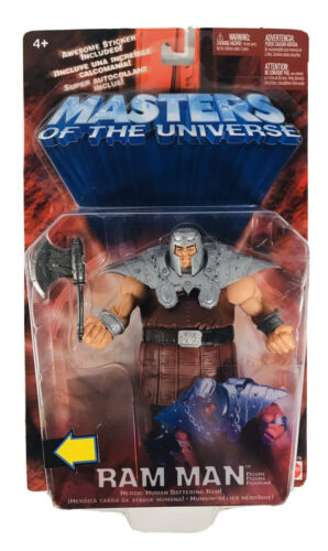 Masters of the Universe Ram Man 200X Sealed Figure With Action Chip MOTU He Man