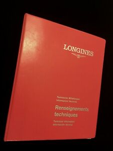 Longines-vintage-watch-Technical-Information-Guide-28-Maintenance-Manuals-inside