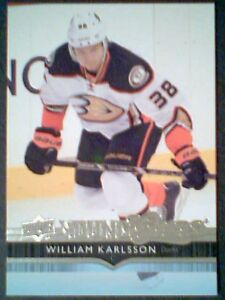 WILLIAM-KARLSSON-14-15-AUTHENTIC-UDS1-YOUNG-GUNS-ROOKIE-CARD-SP