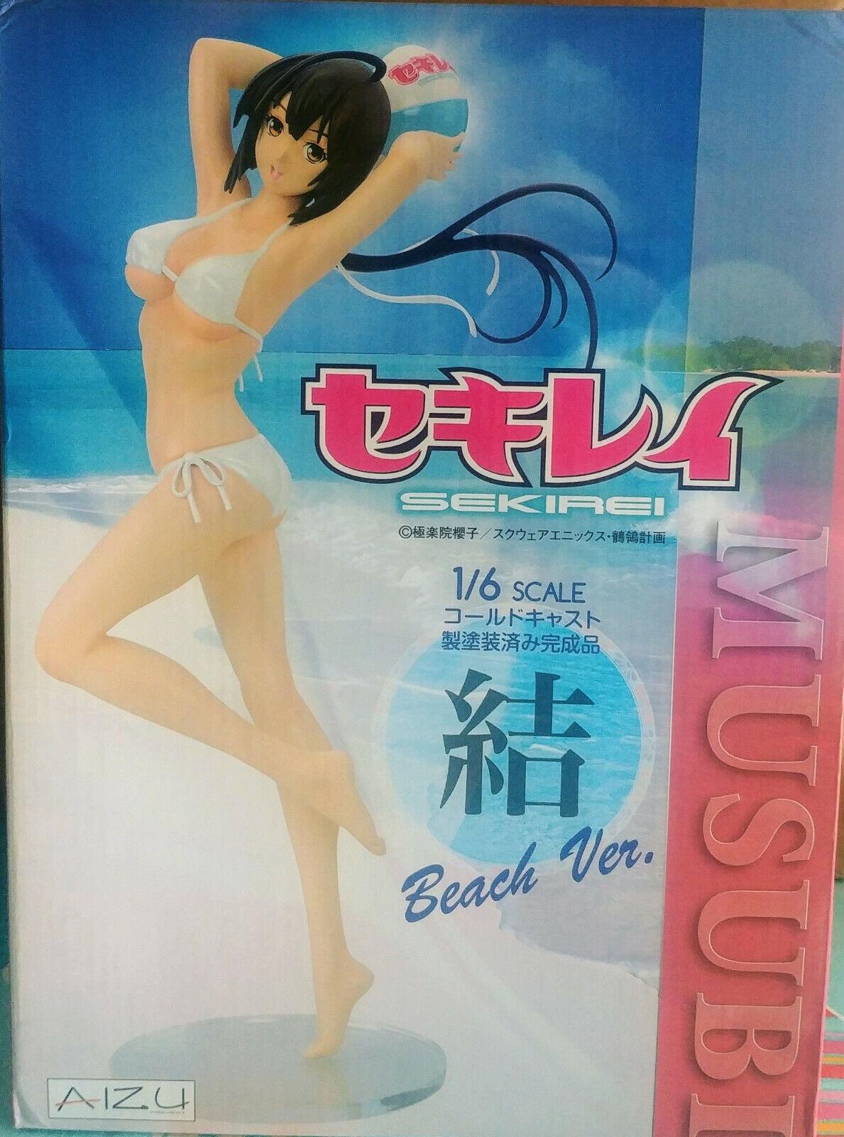 Aizu Project Sekirei Musubi Swimsuit Weiß Pearl Ver. Figure