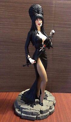 Elvira Mistress of the Dark TweeterHead Porcelain Maquette Swarovski Crystal