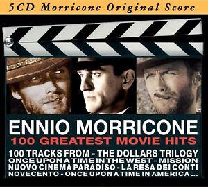 ENNIO-OST-MORRICONE-GREATEST-MOVIE-HITS-5-CD-NEU-MORRICONE-ENNIO