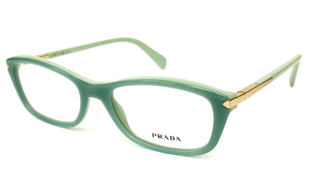 PRADA VPR 04p 2au-101 DESIGNER Havana RX Eyeglasses Frame 52-17-135 ...