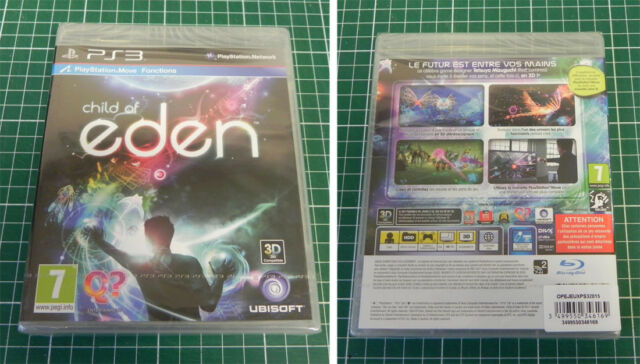 CHILD OF EDEN -PAL- PS3 Playstation 3