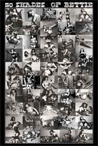 50 Shades Of Bettie Poster 24in x 36in