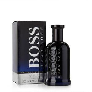 Neuankömmlinge größte Auswahl von 2019 unglaubliche Preise Details about Hugo Boss Boss Bottled Night Edt Eau de Toilette Spray for  Men 200ml