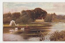 F.S. Walker, Pangbourne on Thames, Tuck 7121 Postcard #2, B045