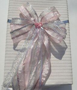 Geschenkschleife Zuckertutenschleife Schultuten Schleife