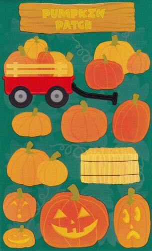 2 Strips Jack-O-Lanterns Mrs Pumpkin Patch Grossman/'s Giant Stickers