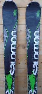 Skis-parabolique-d-039-occasion-SALOMON-X-Drive-Fixations-182cm
