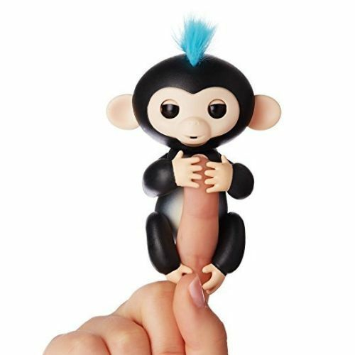 Sonstige Humorous Wowwee Fingerlings Interactive Blue Monkey 100% Authentic Elektrisches Spielzeug Bonus Maxell Lr44