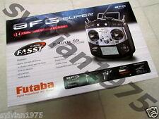 Futaba 8FG SUPER 2.4G 8ch Computer radio + R6208SB 8ch RX 8FGA 8FGH New In Box