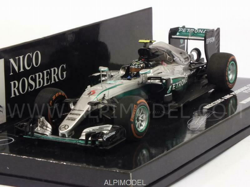 Mercedes W07 AMG Hybrid Winner GP Japan 2016 World 1 43 MINICHAMPS 417160506