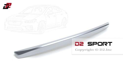 Painted Ice Silver Duckbill Rear Trunk Spoiler for 2015-2018 Subaru Impreza WRX