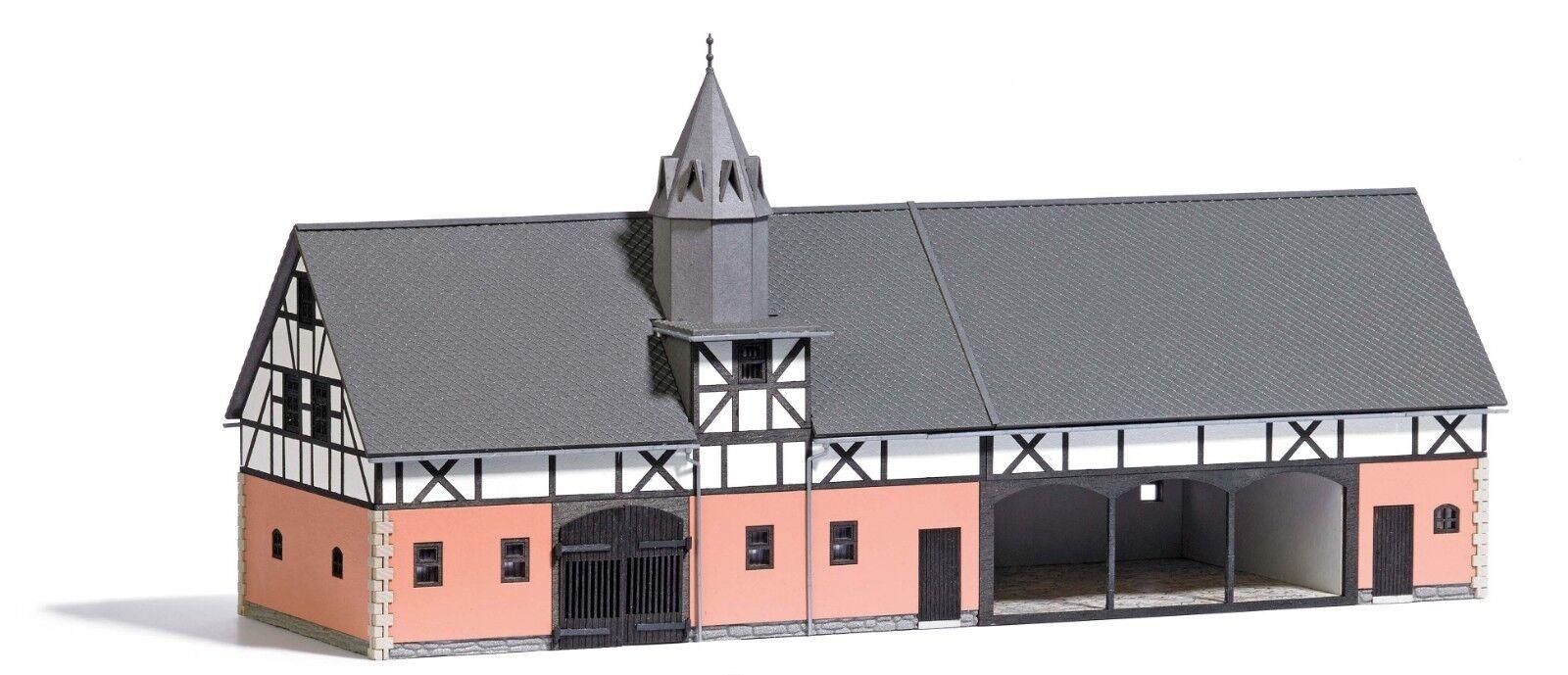 Busch 1670 Scala H0 Reitergut Sorga   Nuovo in Scatola Originale
