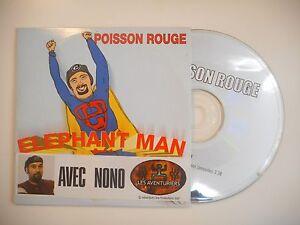 ELEPHANT-MAN-AVEC-NONO-POISSON-ROUGE-CD-SINGLE-PORT-GRATUIT