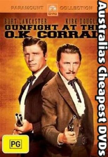 1 of 1 - Gunfight At The O.K. Corral DVD NEW,  FREE POSTAGE WITHIN AUSTRALIA REGION 4