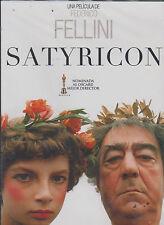 DVD - Satyricon NEW Pelicula De Federico Fellini FAST SHIPPING !