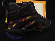 Reebok Shaqnosis OG, Retro, Black / Purple / Yellow / Red, Size 11