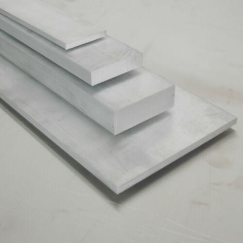 Aluminium Flachstange 60x20mm Länge wählbar Alu Flachmaterial AlCuMgPb Flach
