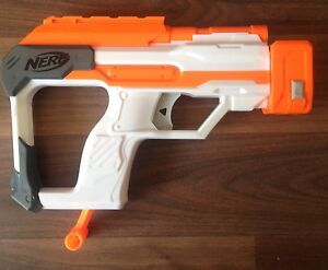 NERF Modulus Gun Stock That Fires Darts Upgrade Mod Attachment With Ammunition - <span itemprop='availableAtOrFrom'>Gateshead, Tyne and Wear, United Kingdom</span> - NERF Modulus Gun Stock That Fires Darts Upgrade Mod Attachment With Ammunition - Gateshead, Tyne and Wear, United Kingdom
