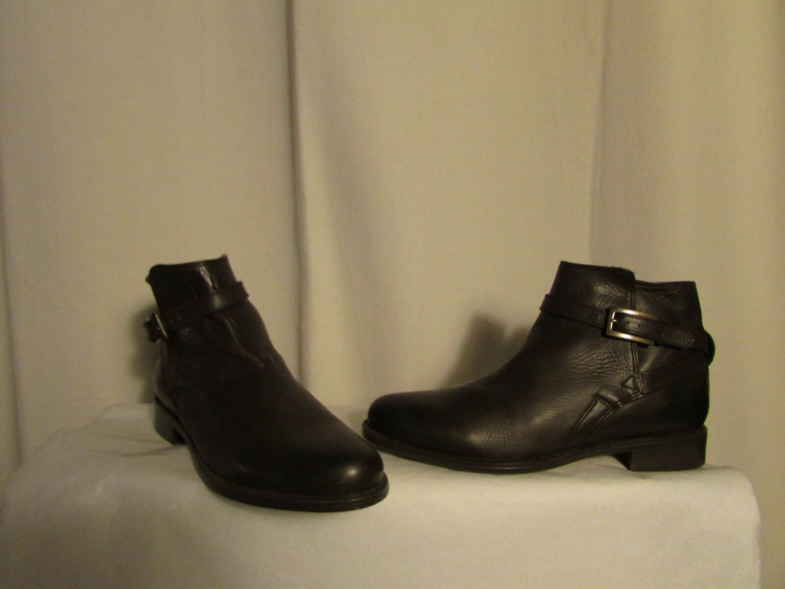 botas bottines  HARCOURT cuir marrón 39