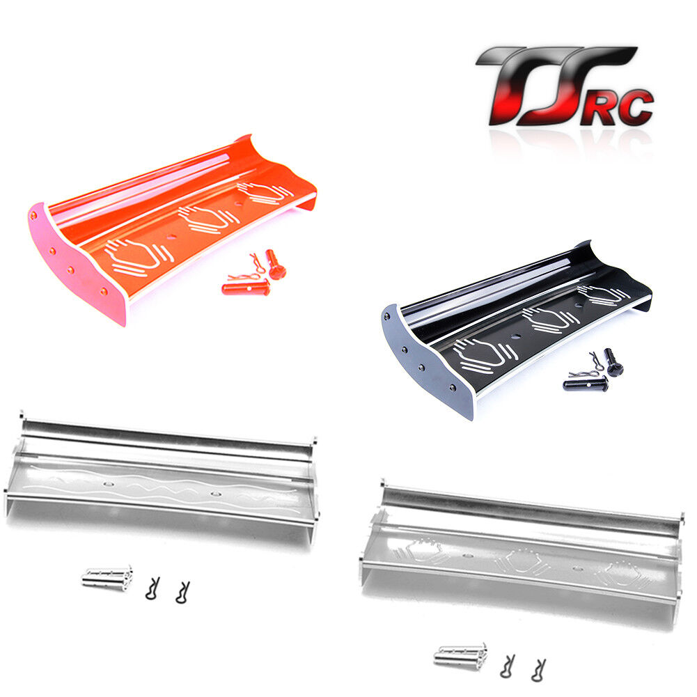 Alloy CNC Rear Wing Set for 1/5 RC HPI BAJA 5B 5T 5SC Rovan King Motor
