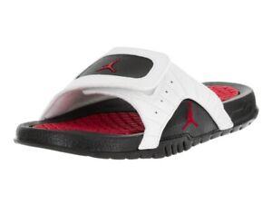 best service 7e21d 9d3e6 Details about Jordan Retro 12 Hydro Big Kids Sandals White/Infrared/Black  820267-131