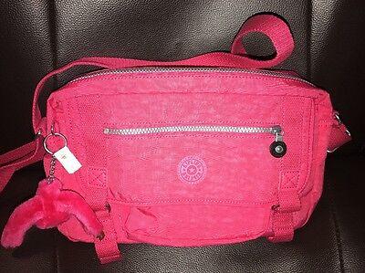 Kipling Gracy Crossbody Bag Vibrant Pink