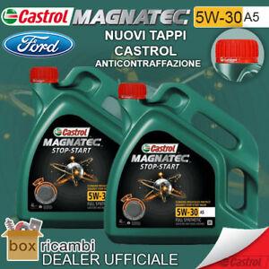 Olio-CASTROL-MAGNATEC-5W30-A5-FORD-WSS-M2C913-8-LT-Litro-CASTROL-ITALIA