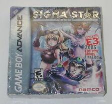 Sigma Star Saga (Nintendo Game Boy Advance, 2005) Factory Sealed R6716