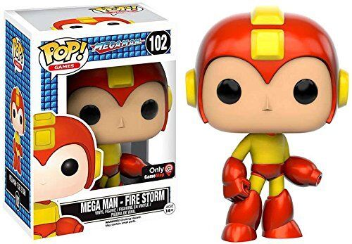 Fire Storm (Mega Man) Funko Pop  Vinyl Figure Brand New