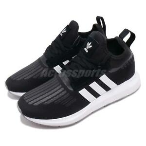 75b0dccf810a Image is loading adidas-Originals-Swift-Run-Barrier-Black-White-Grey-