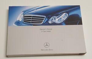 2006 mercedes benz c class owners manual c55 350 c280 c230 v8 5 4l rh ebay co uk Mercedes-Benz C230 Sport Manual 2006 mercedes c230 sport service manual