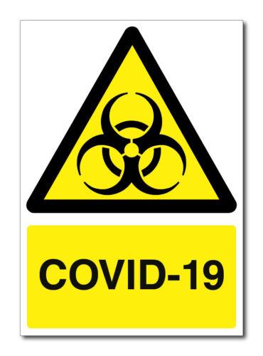 COV-19 Sign