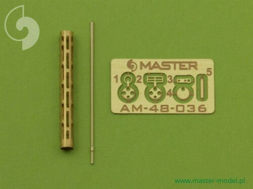 LMG14 Nouveau 1:48 Master 48036 German Ww I machine gun ca