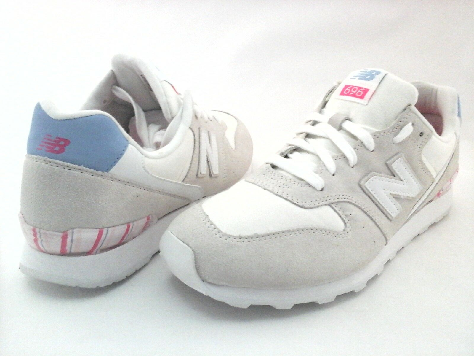 New Balance WL696OSA Womens 696  Classic Retro Sneakers shoes Off White US 12