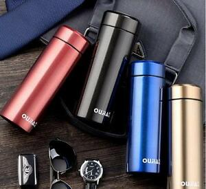 Stainless Steel Thermos Cup Mini Travel Mug Office Tea Coffee Water Cup Bottle