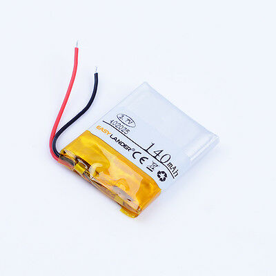 3.7V 140mAh Li-ion Polymer battery 402025 For SONY mw1 bluetooth earphone mp3
