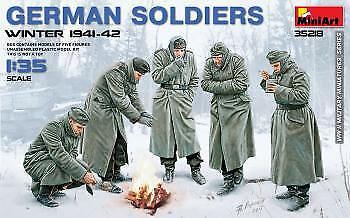 MiniArt 1/35 Soldats Allemands Hiver 1941-42 # 35218