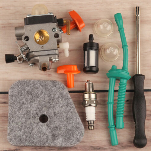 Carburetor Air Fuel Filter Tune Up Kit For Stihl HL100 HT101 FS110 FR130T FS130
