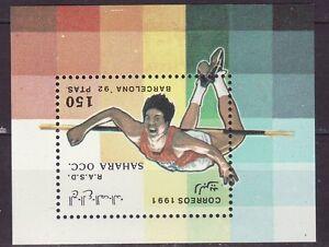 Sahara 1991 - MNH  - Sport