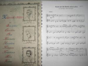 Noten-20-Klassik-Hits-fuer-Horn-zweistimmig