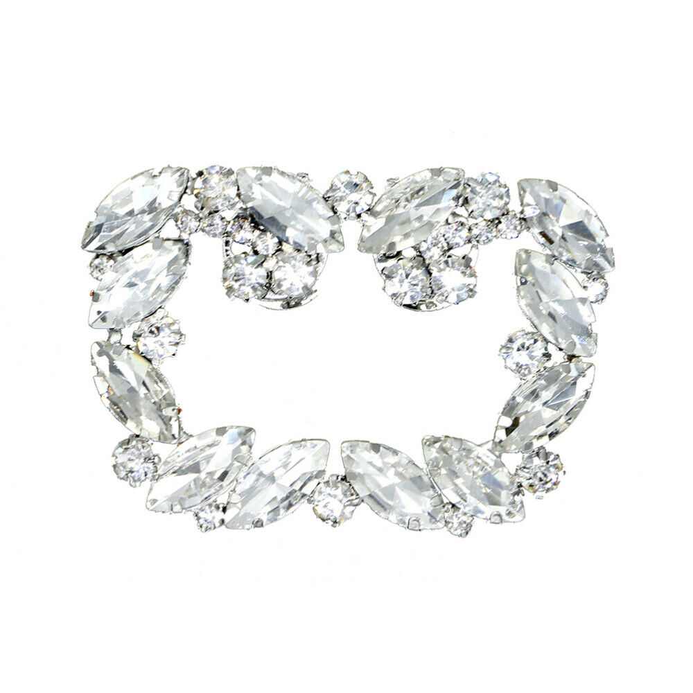 1pc Shoe Buckle Crystal Shoe Decor Accessories Shoe Clips for Wedding