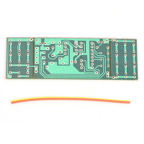 NE555 CD4017 Scrolling Flowing Red Light SMD DIY Kit Soldering Practice Kits FO