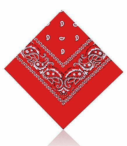 100/% Cotton Paisley Headband Head Wear Tie Wrap Band Scarf Neck Wrist Bandana