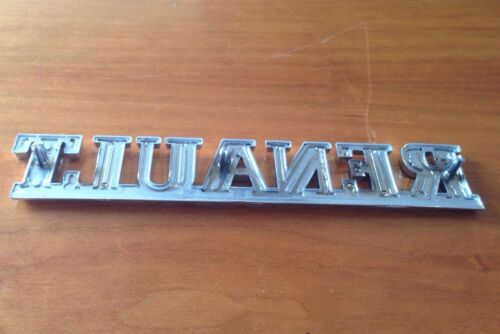Brand New RENAULT Boot Badge Emblème CLIO 1998-00 SAFRANE 1992-00 R19 1988-00